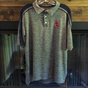 2b4dfc55 chiliwear. Men's Dri Fit Ole Miss Polo Shirt — Large